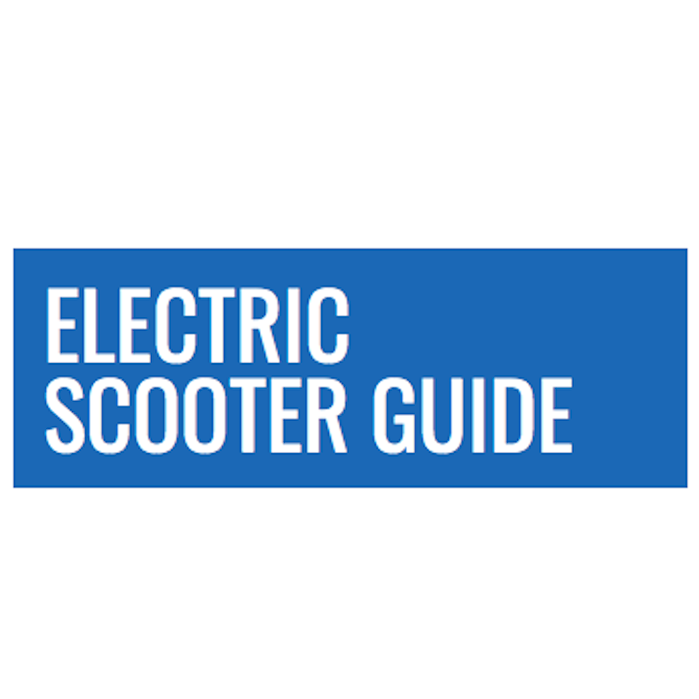 electric scooter guide logo