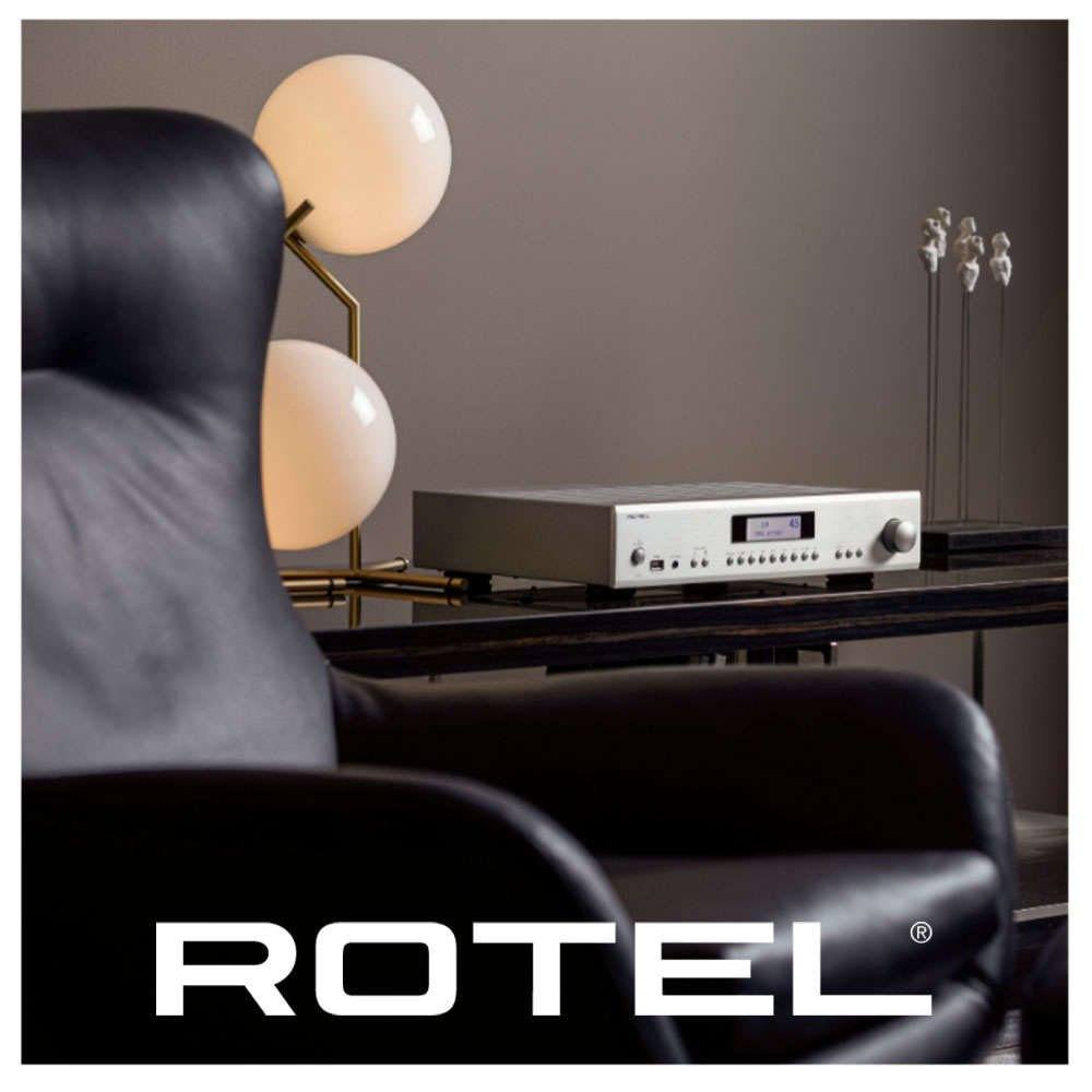 Rotel Amplifiers and CD Players