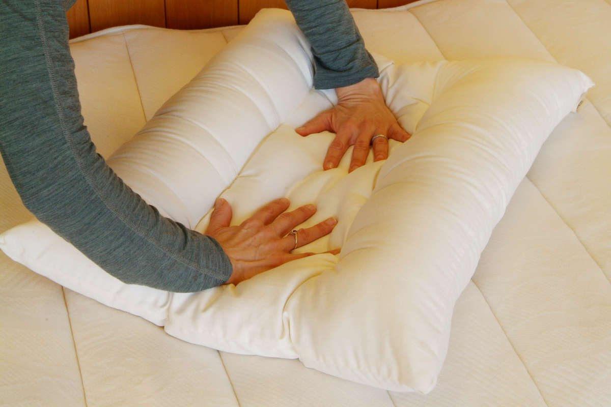 100% Eco-Wool Orthopedic Contour Pillow