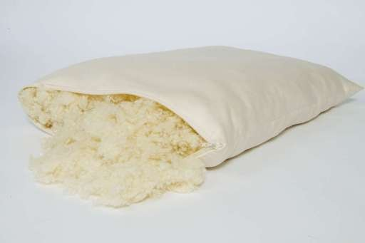 "Natural Woolly ""Down"" Pillow Holy Lamb"
