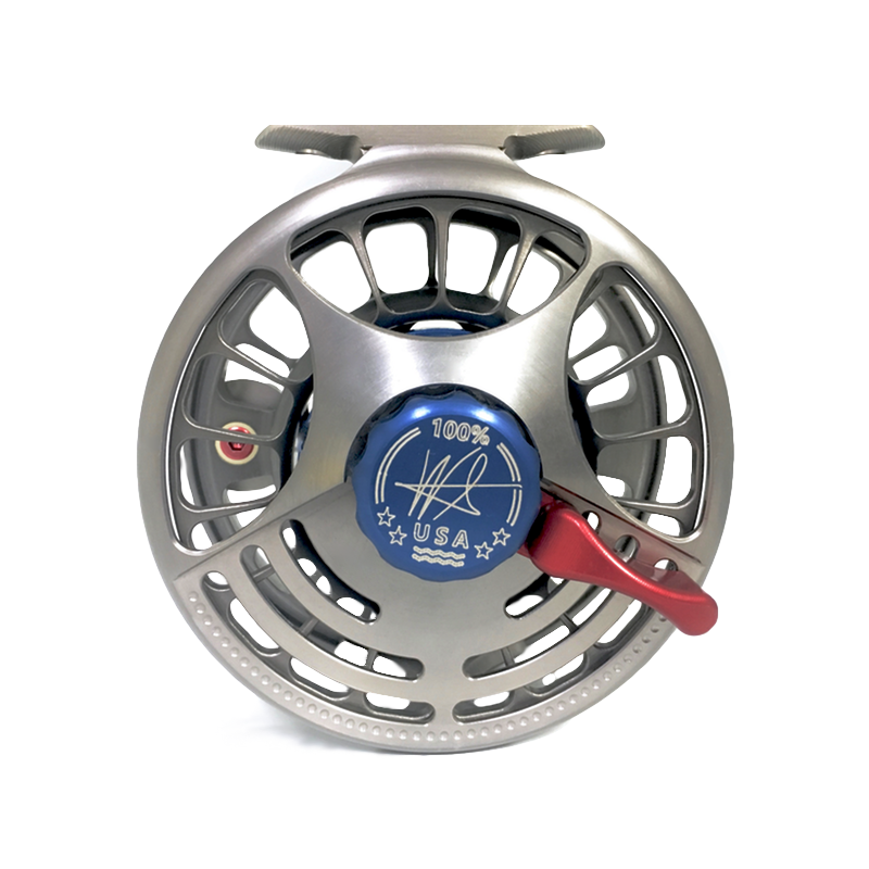 SEiGLER Small Fly Fly fishing reel, Made in virginia Beach, VA