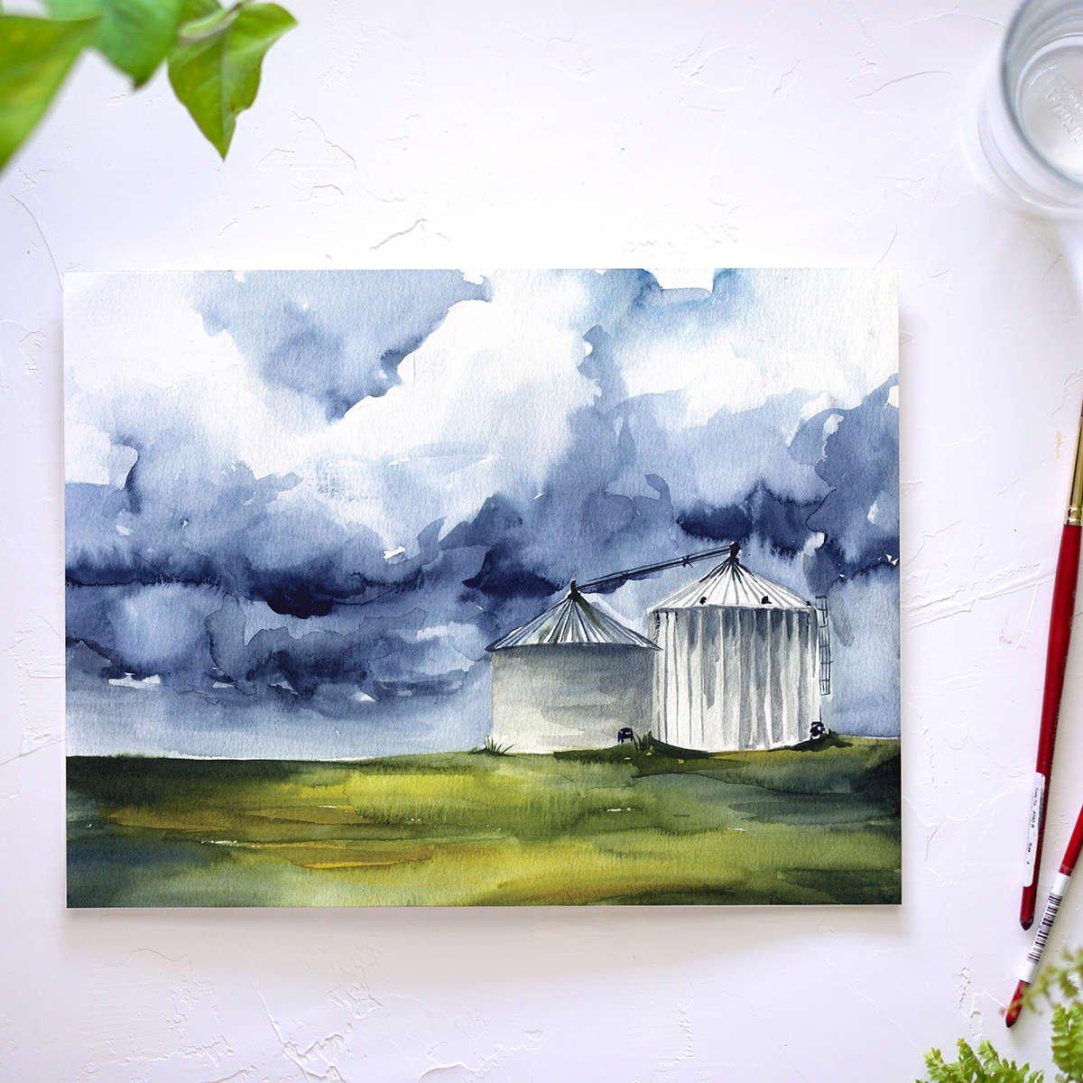 Watercolor Subscription Box