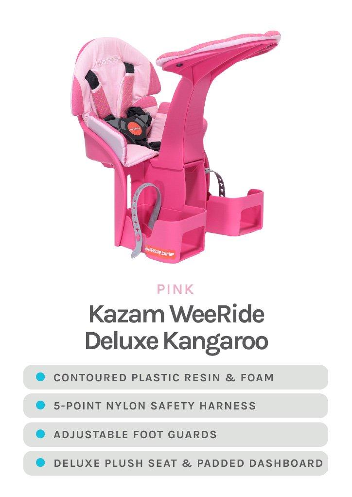 Pink Kazam WeeRide Deluxe Kangaroo - with detailed specs