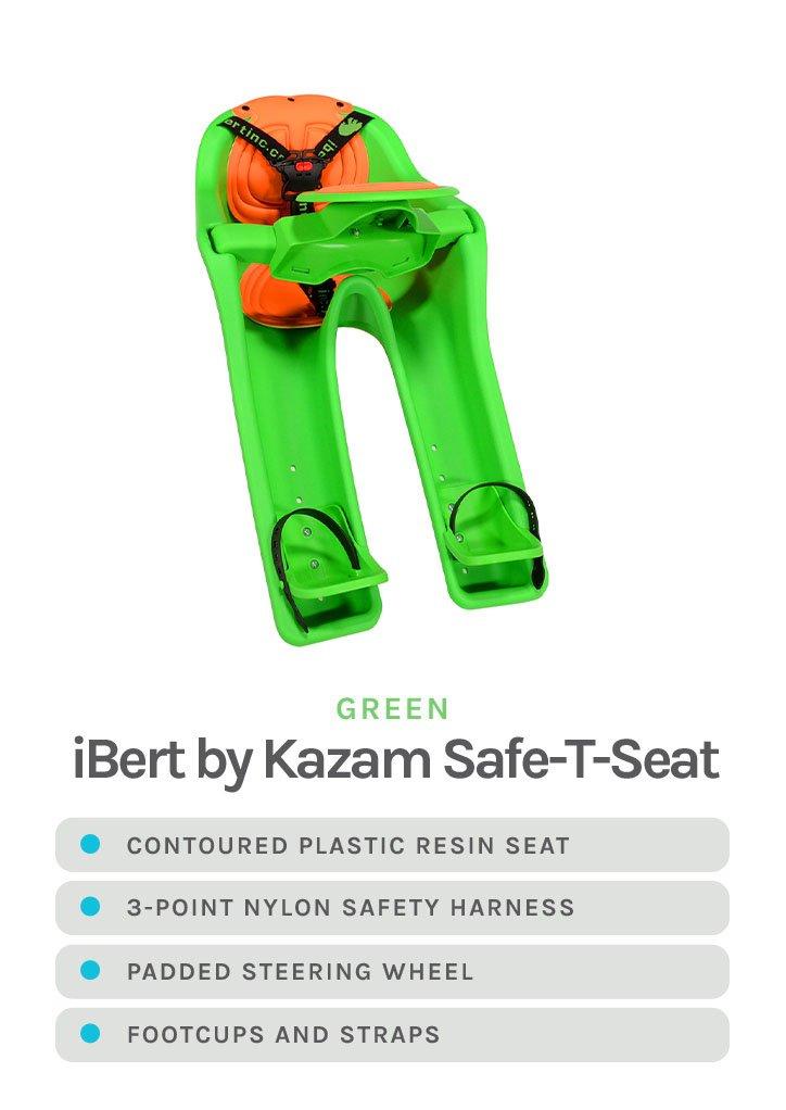 Green iBert by Kazam Safe-T-Seat