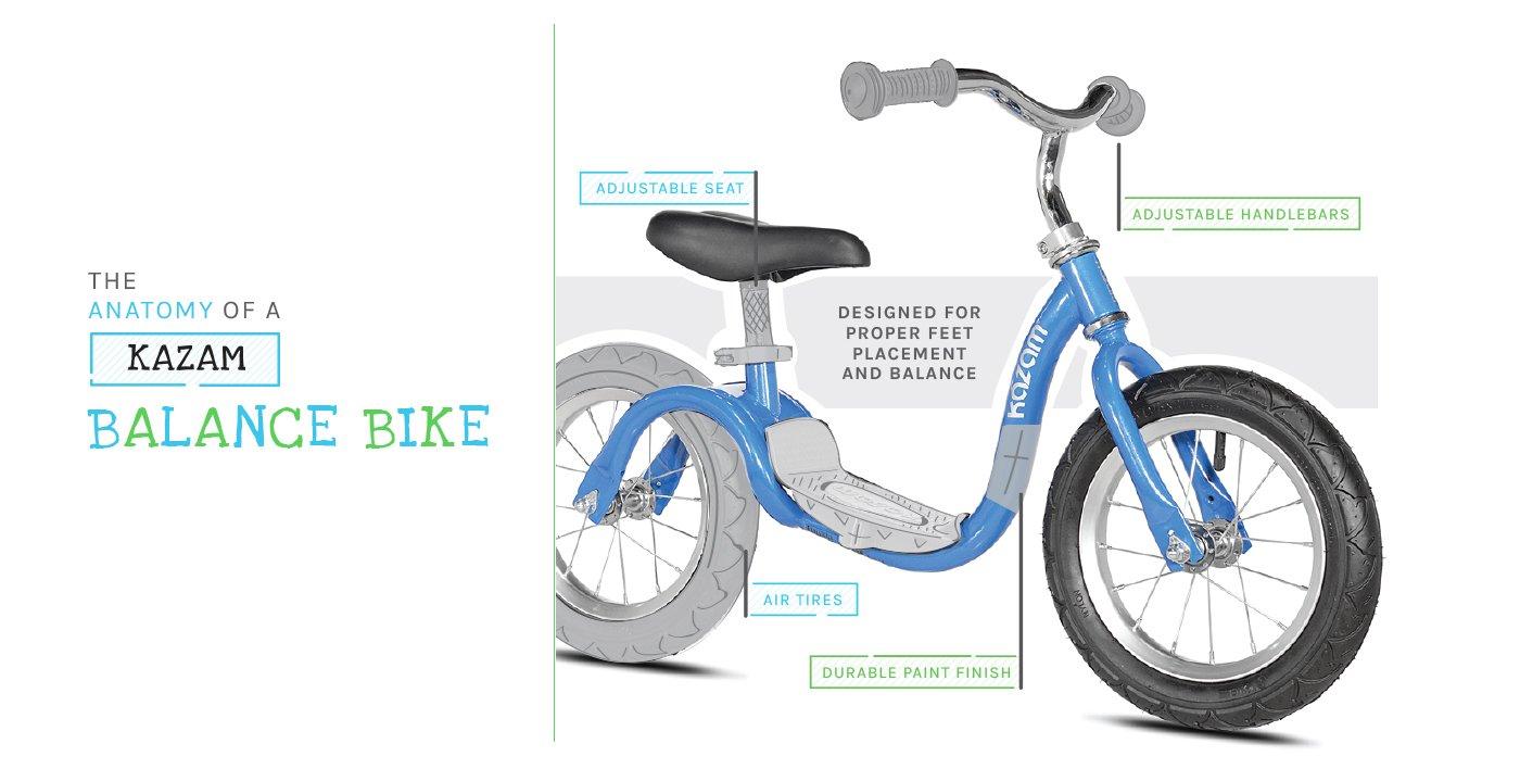 Kazam Balance Bikes The Best Training Balance Bike For Children
