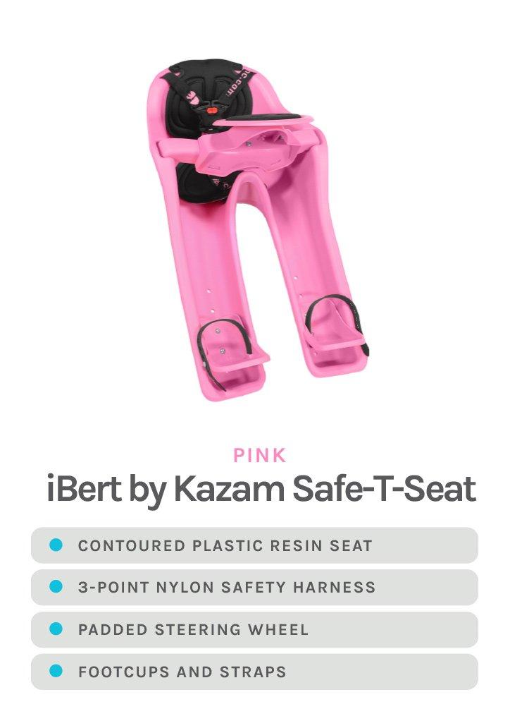 Pink iBert by Kazam Safe-T-Seat