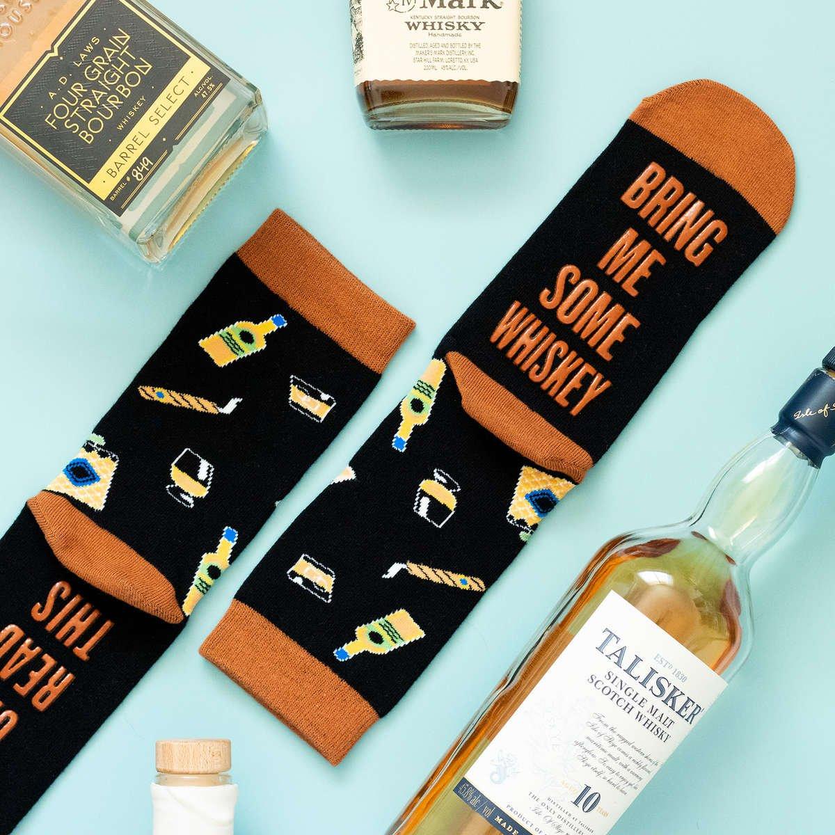 Lavley Whiskey Socks