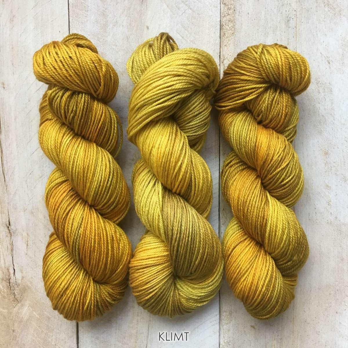 Hand-dyed yarn Louise Robert Klimt