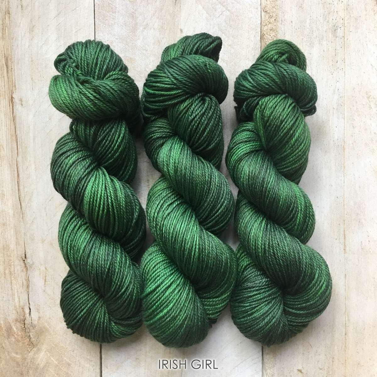 Hand-dyed yarn Louise Robert Irish Girl