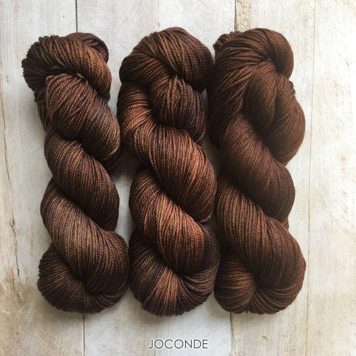 Hand-dyed yarn Louise Robert Joconde
