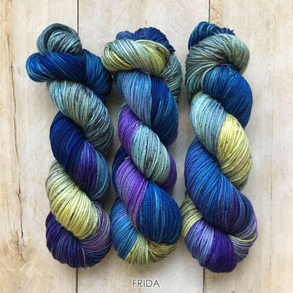 Hand-dyed yarn Louise Robert Frida