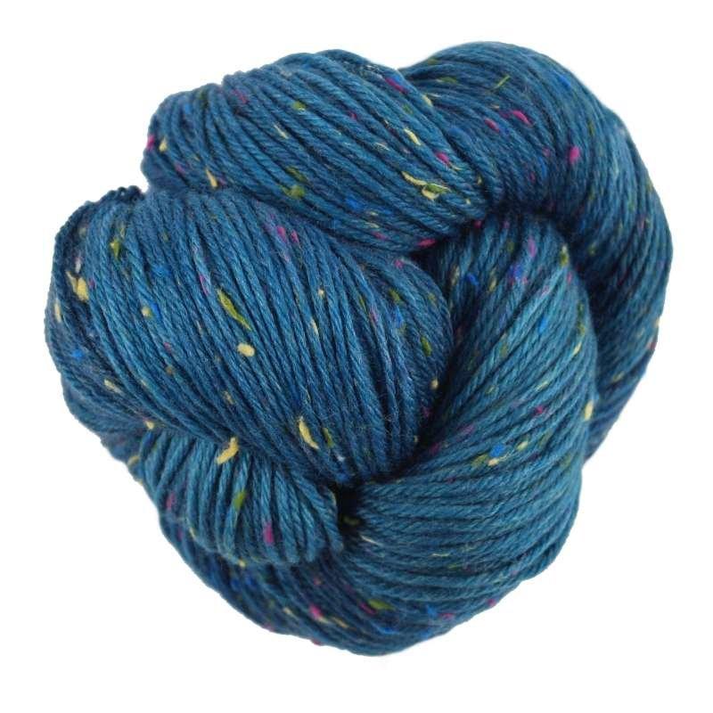 multicolored neps yarn