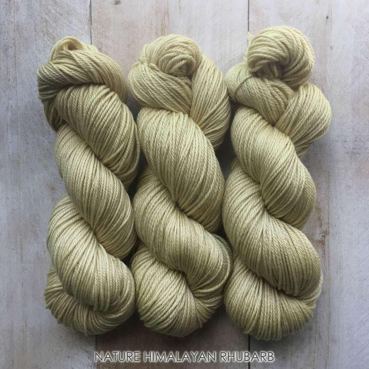 Hand-dyed yarn Louise Robert NATURE Himalayan rhubarb