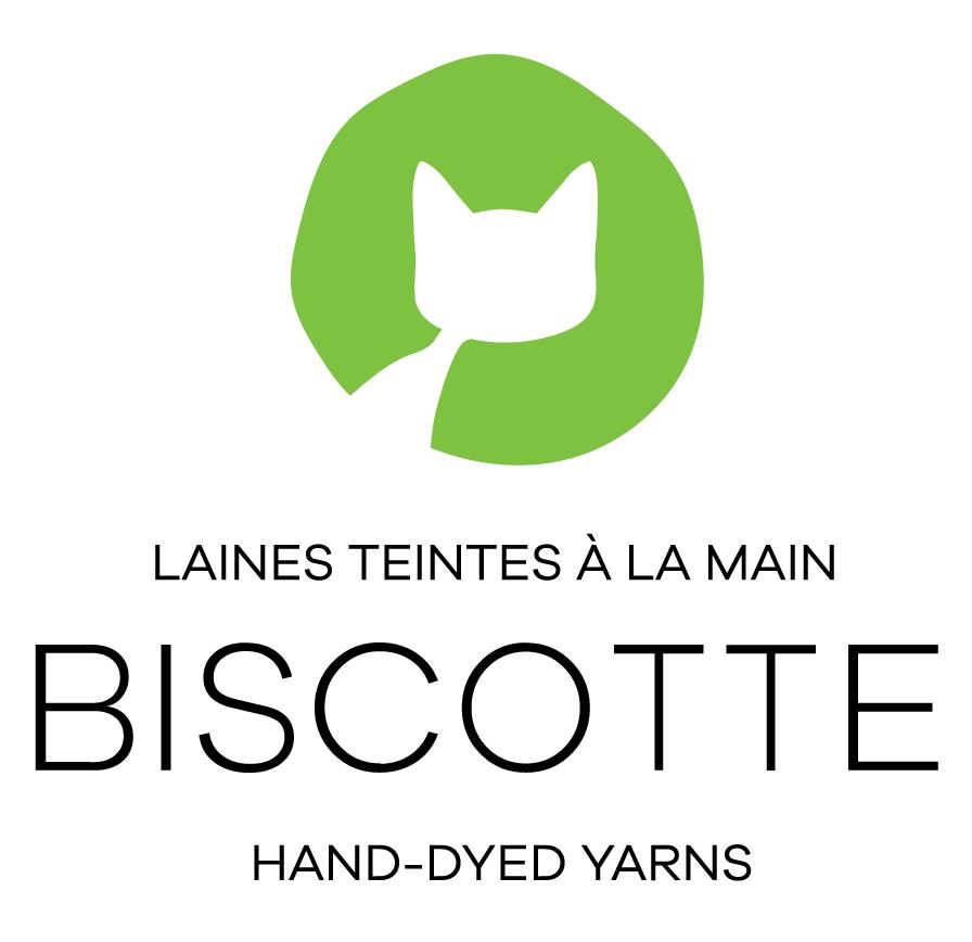 Biscotte Laines Teintes à la main
