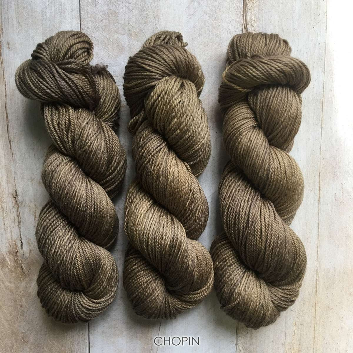 Hand-dyed yarn Louise Robert Chopin