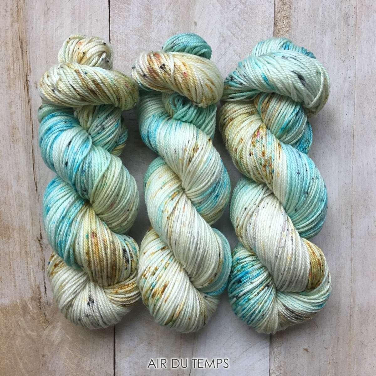 Hand-dyed yarn Louise Robert Air du temps