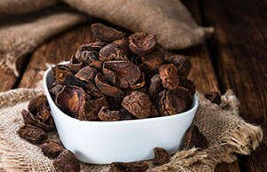 Cacao Bliss contains Theobromine