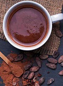 Luscious Cacao Bliss Hot Chocolate