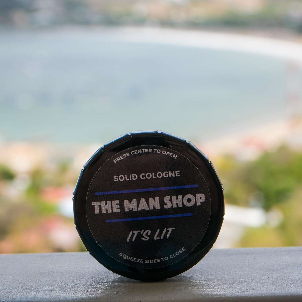 The Man Shop Solid Cologne