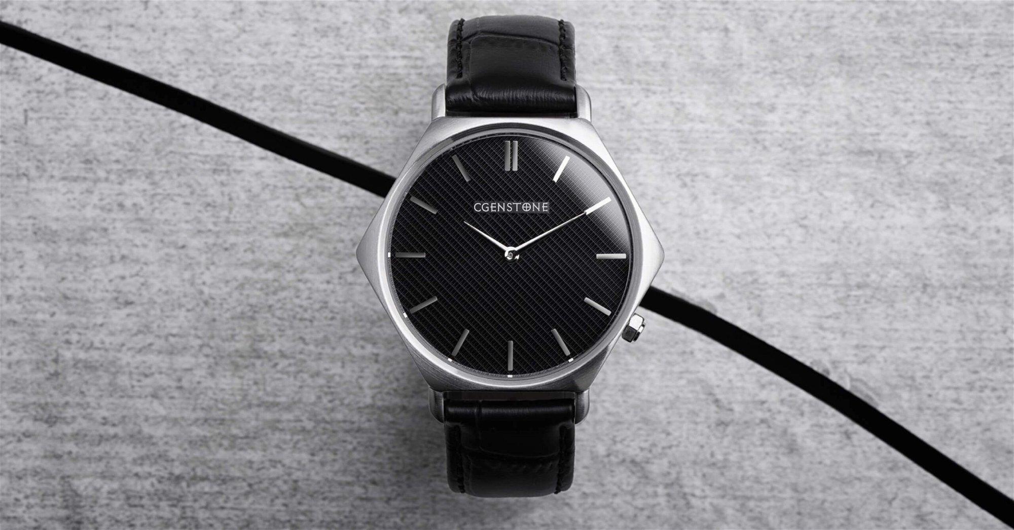 Minimalist Hexagon Watch