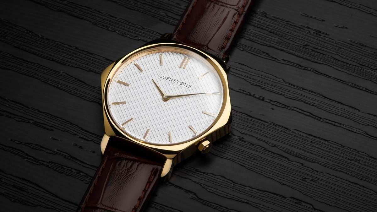 Cgenstone Hexagon watch