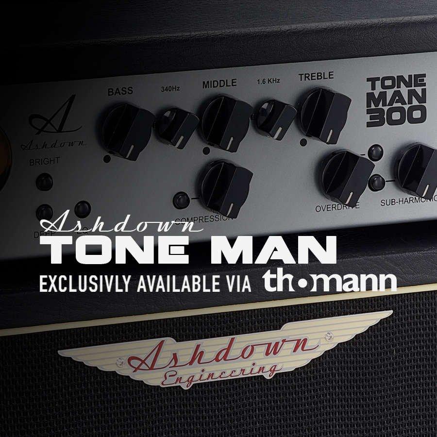 Ashdown Product Ranges Engineering Road Gear 1 Amplifier Head Cabinet Hitam Tone Man