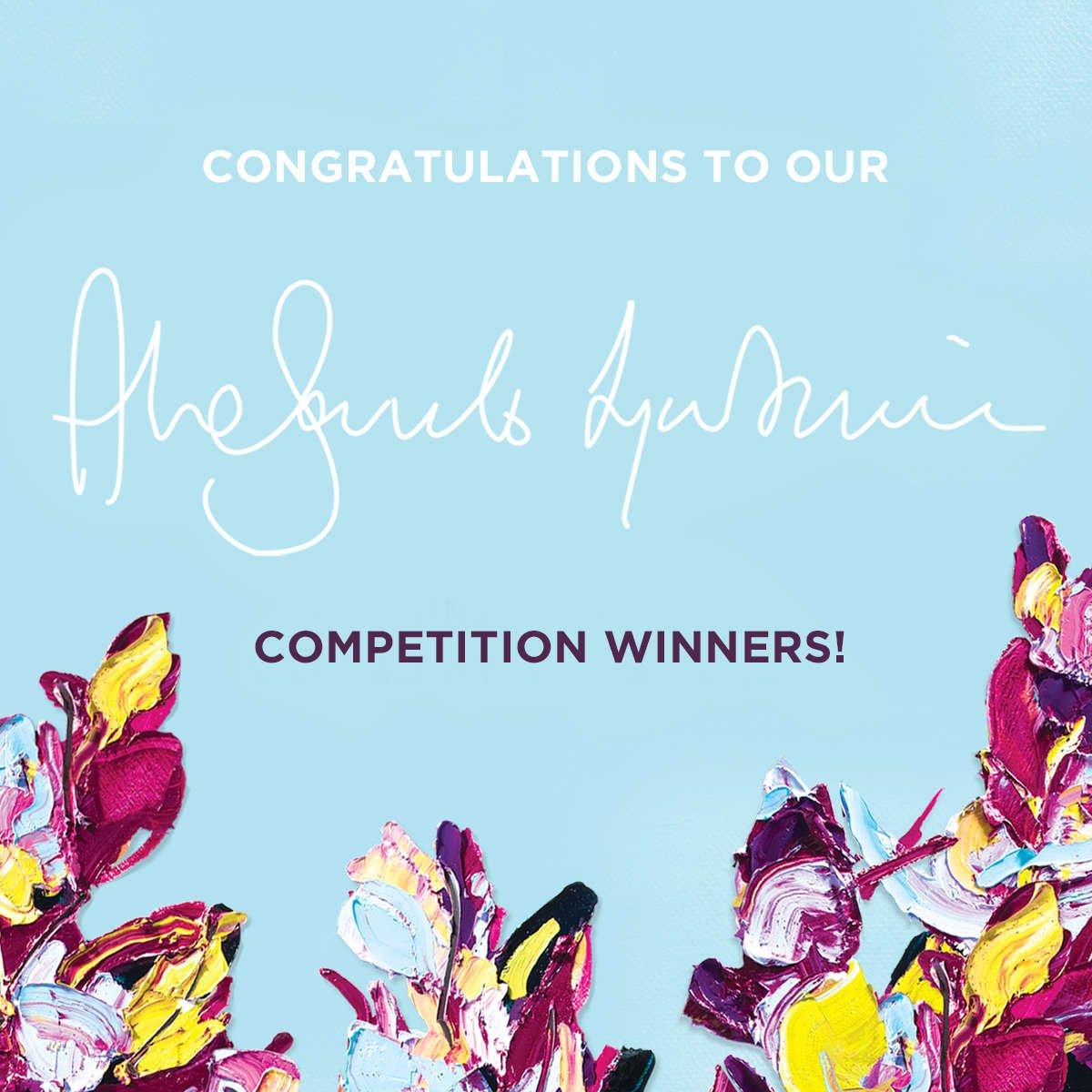 Congratulations to our Alesandro Ljubicic original  artwork winners