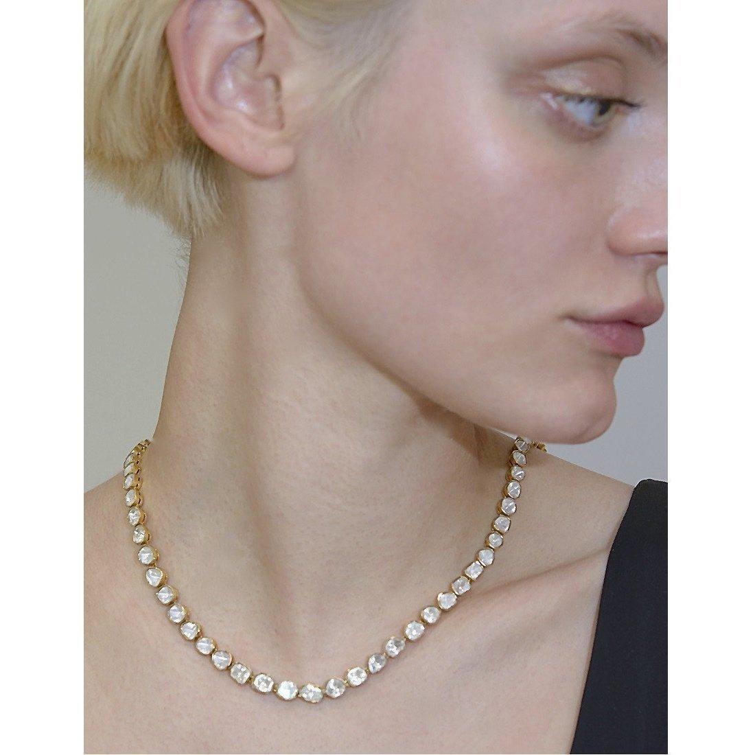 Polki Diamond Necklace - Sally Agarwal