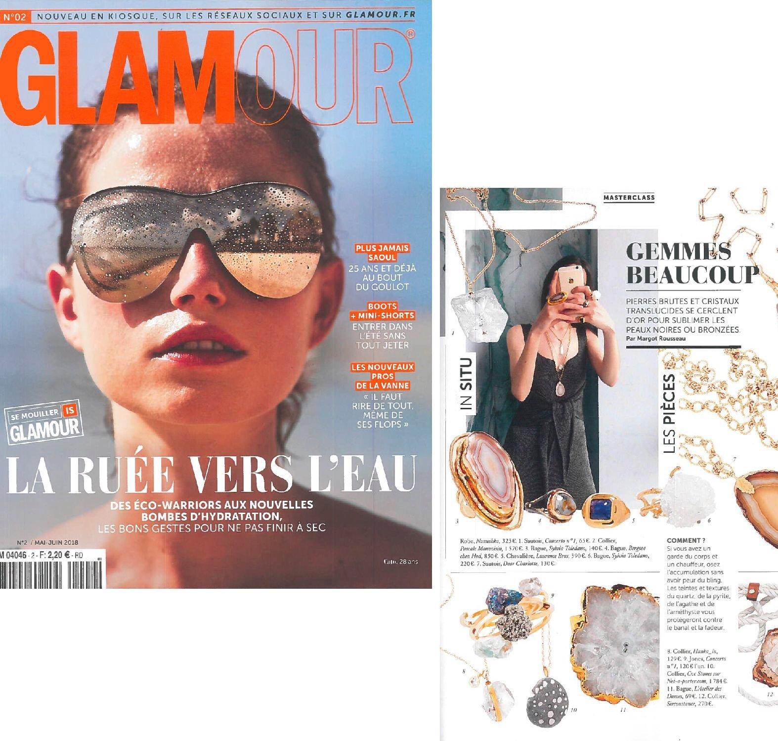 Glamour France, 2018