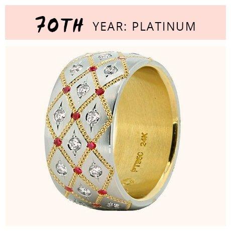 70th Year: Platinum