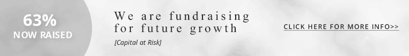 We are fundraising for future growth
