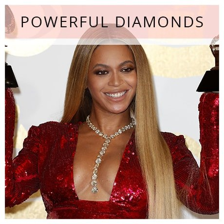 Shop Beyonce Long Diamond Necklaces