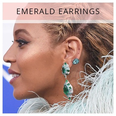 Shop Beyonce Emerald Earrings
