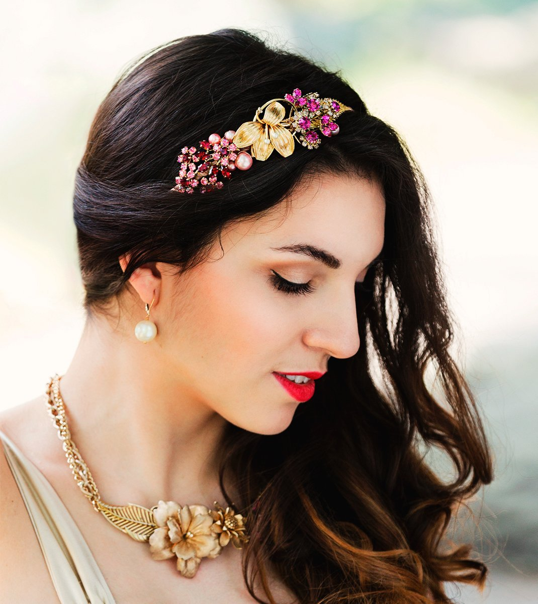 Gardenia Headpiece