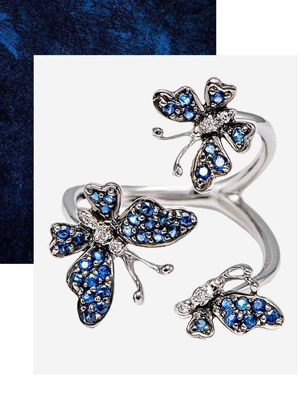 Pipevine Butterfly Ring, Stefere Limited