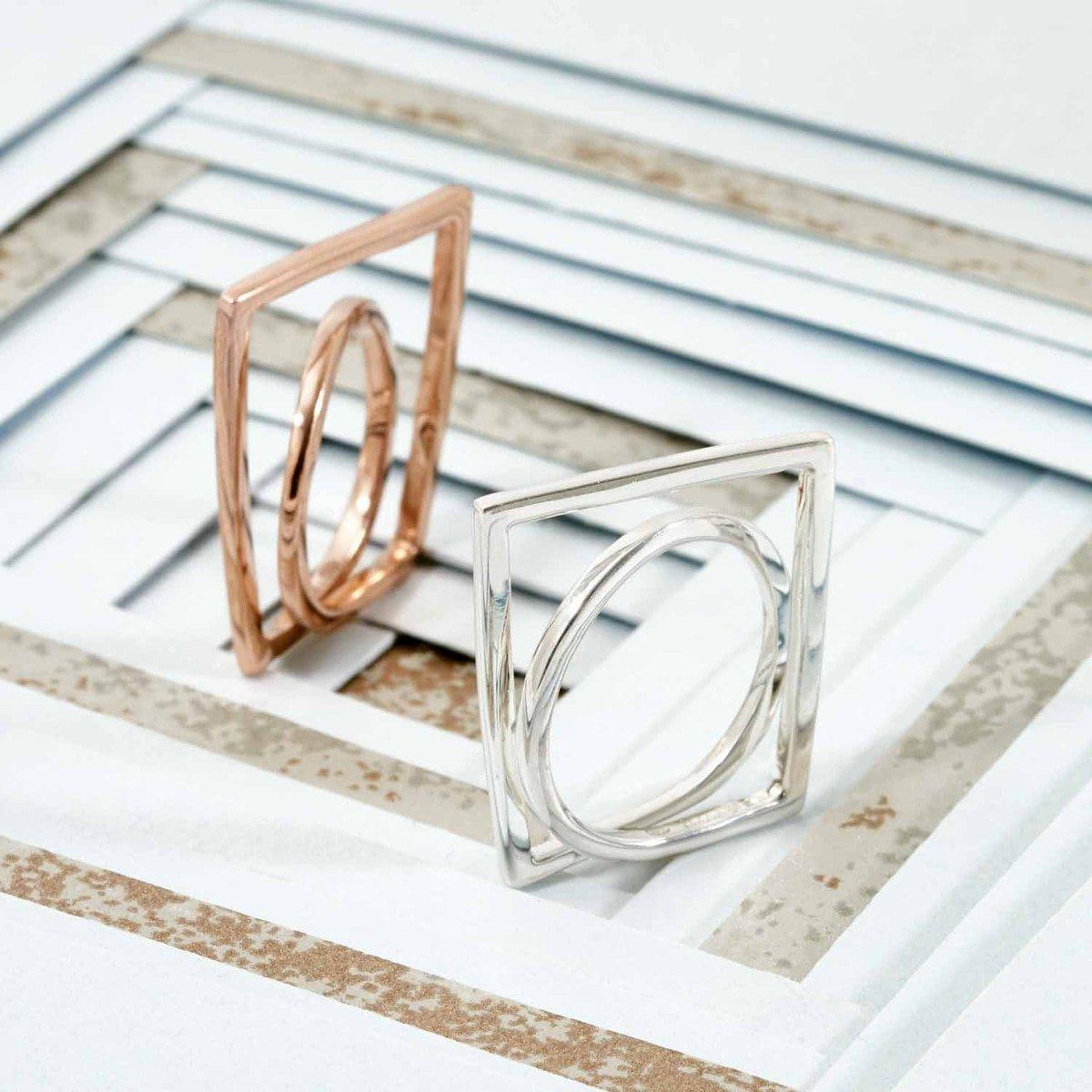 Enigma Silver Ring