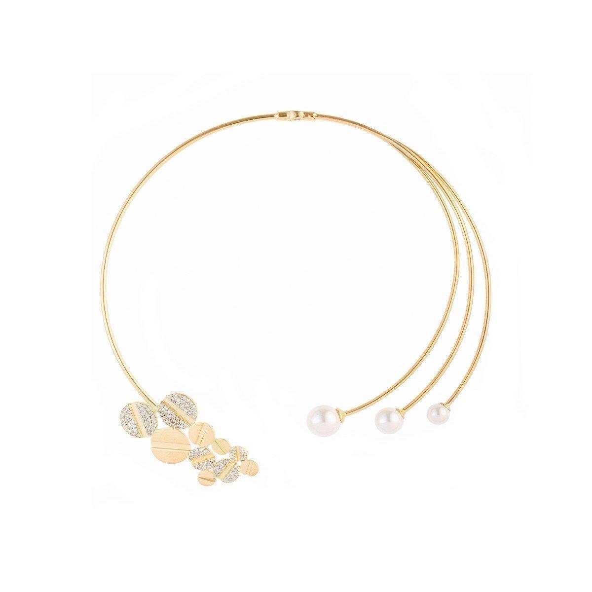 Pearl Nut Choker Necklace, Joanna Laura Constantine,