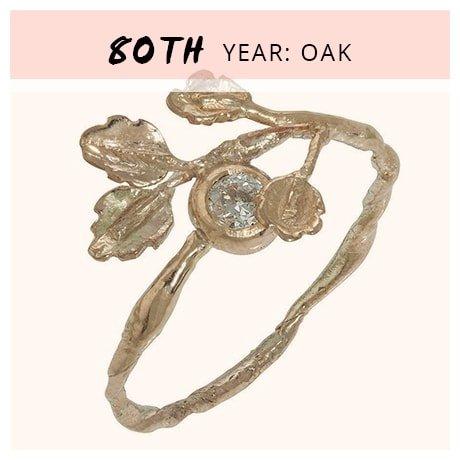 80th Year: Oak
