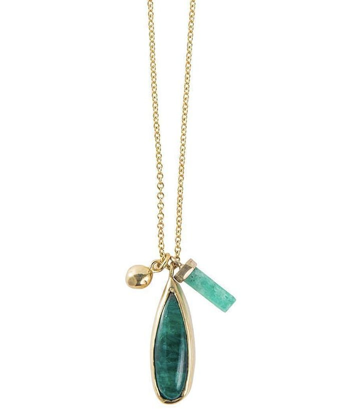 Petal Emerald Multi Necklace, India Mahon