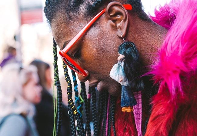 The Best Street-Style Accessories At LFW