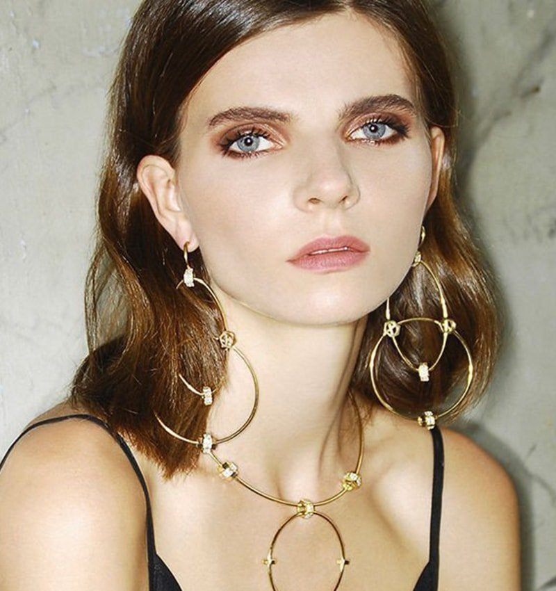 Statement Nuts Wire Earrings,  Joanna Laura Constantine