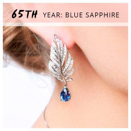 65th Year: Blue Sapphire