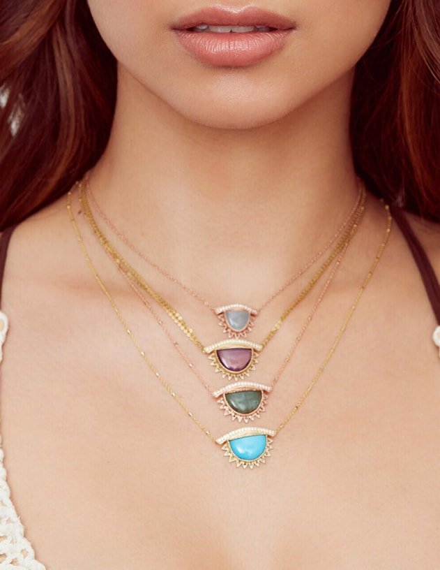 I Purify What I See Necklace, Conges