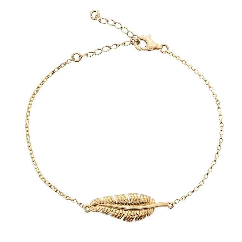 Banana Leaf Gold Bracelet, Betty Balaba
