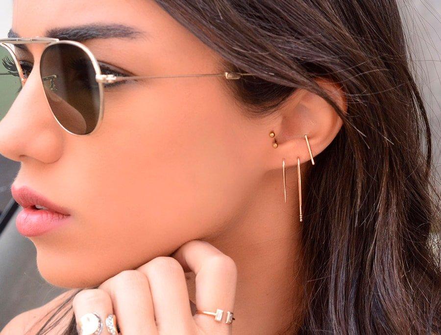 18 Cool Earrings for Multiple Piercings