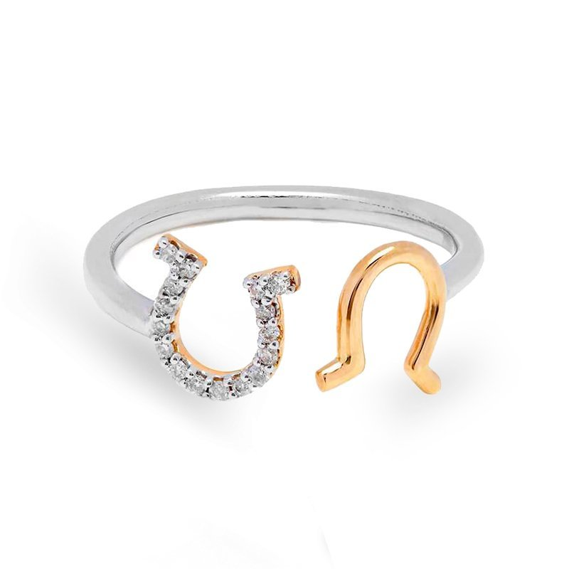 Open Horseshoe Ring
