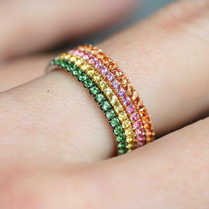 Full Bloom 3-Ring Combination