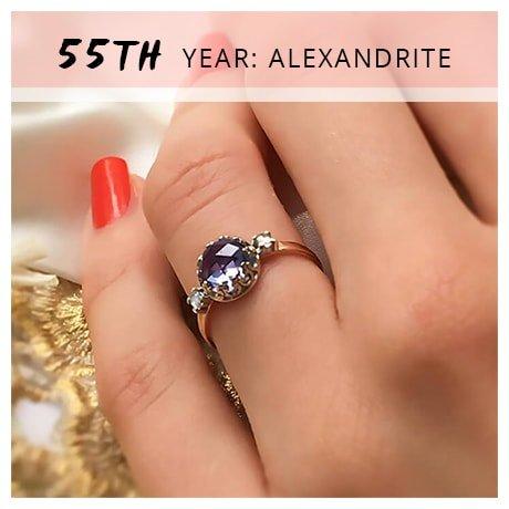 55th Year: Alexandrite