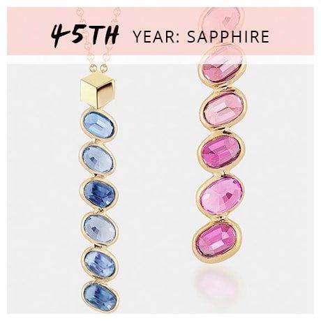 45th Year: Sapphire