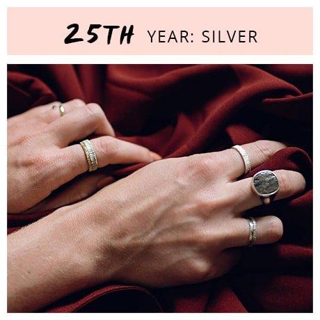 25th Year: SIlver